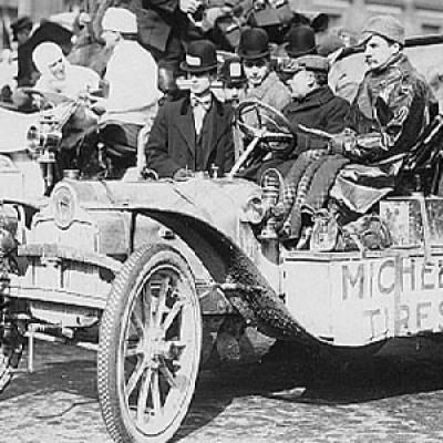 Первые автогонки