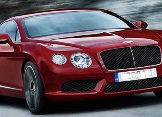 Интерьер и экстерьер Bentley GT V8