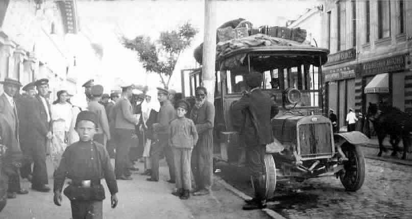 20-ти местный автобус Евпатория-Симферополь 1916