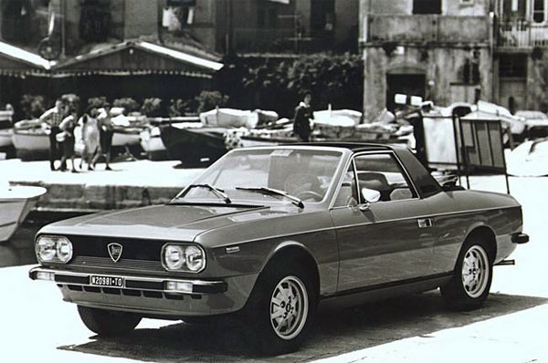 Lancia Beta: Beta Spider, модификации 2000 (120 Hp)