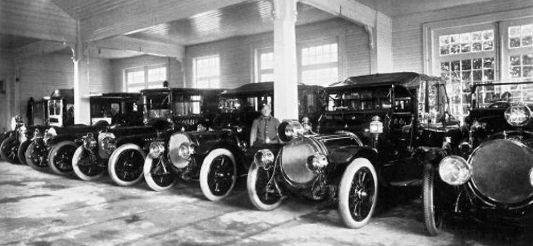 Первые автомобили в Крыму
