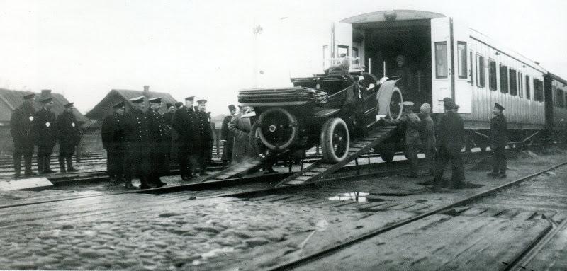 царский вагон гараж