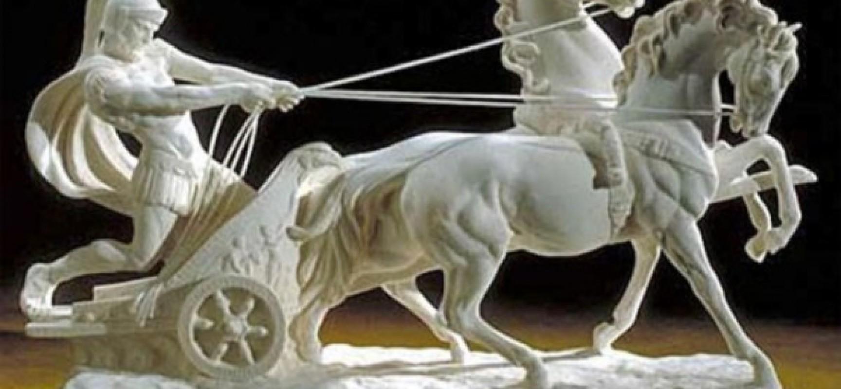 Боевые колесницы античности