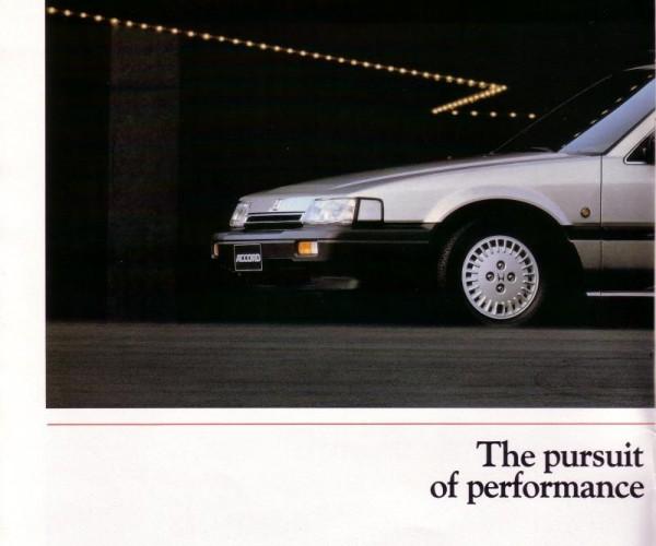 Брошюра Honda Accord третье поколение (русская версия)